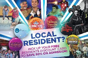 Don't miss out on all the fun with your residents' discount card