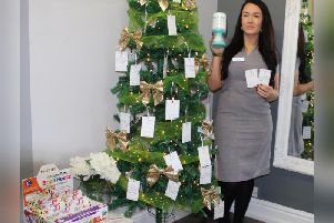 Lisa Gardiner is asking her clients to purchase vouchers which will be given to patients at Brian House and Trinity hospices