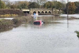 Flooding caused serious damage and a fatality in Derbyshire.