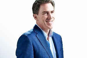 Rob Brydon brings his Songs and Stories show to Buxton Opera House.