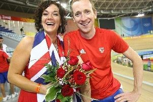 Bradley Wiggins and wife Cath