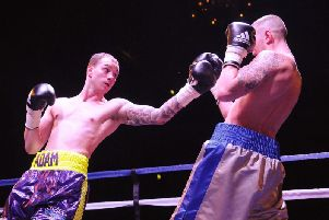 Adam Little is hoping to return to the ring in March