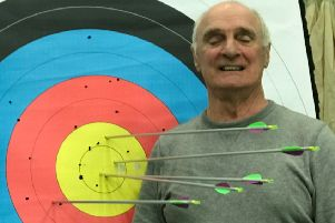 Charity Blind Veterans UK is seeking a volunteer 'spotter' to help Belper resident David Greenwood practise his newfound hobby of archery.