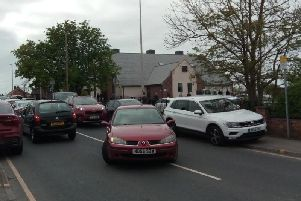 Some of the traffic issues close to St Nicholas School