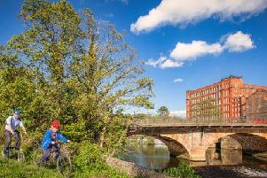 The Derwent Valley Trust is organising a mass cycle ride on Saturday, May 18, to call for a new traffic-free cycleway to be created in the UNESCO World Heritage Site.