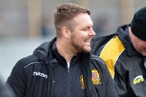 Belper Town manager Grant Black.