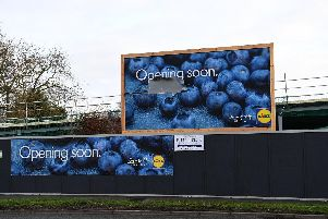 Lidl is opening at the site of the old Pines Hotel, in Chorley