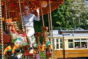 Fairground fun comes to Crich Tramway Village as part of Beside The Seaside.