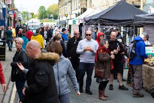 Flashback to the recent Spring Artisan Market in Brighouse town centre