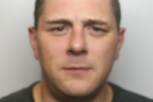 Pictured is  Adam Coupland, 38, of Market Place, South Normanton, who has been jailed for 26 weeks after he admitted three thefts.