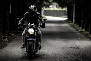 A motorcyclist was robbed of his vehicle in Langley Mill. Stock image.