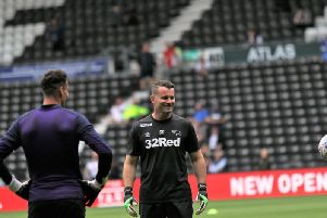 Shay Given was appointed in June last year.