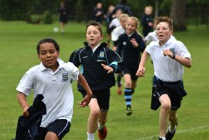 Pupils from Pre Prep to Year 6 took part in the run.
