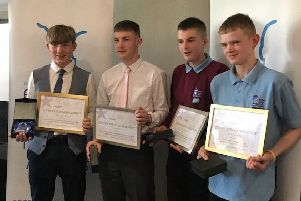 Outstanding: Five students at William Henry Smith School claimed National Engage Awards.