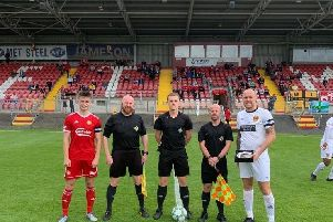 Belper Town were beaten 3-1 against Portadown in their first ever overseas match.