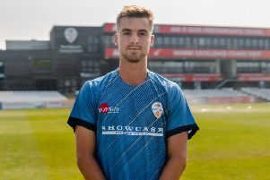 In-form batsman Leus du Plooy, who is anxious to see Derbyshire Falcons pick up some wins in the Vitality T20 Blast.