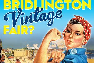 The vintage fair takes place on Bank Holiday Monday (August 25).