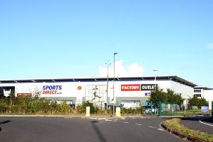 The Sports Direct warehouse, in Shirebrook.