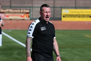 Buxton manager Paul Phillips.