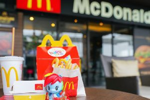 Plastic toys will be removed from children's meals at Burger King and McDonald's.