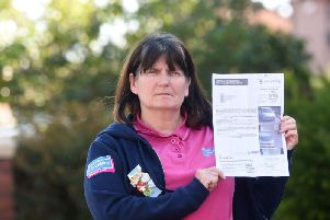 Susan was charged 60 pounds by Care Parking for staying 12 minutes over the car parking limit.