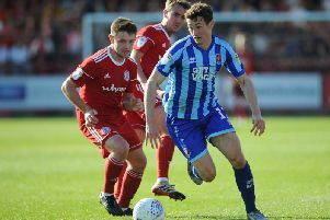 Matty Virtue saved the day for Blackpool at Accrington