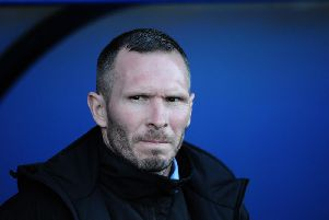 Michael Appleton is now in charge at Sincil Bank