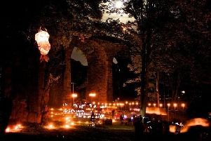 Saturday's lantern procession will be accompanied by a street party in the centre of New Mills.