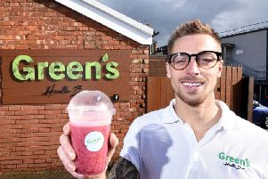 Owner Mark Green is determined to bring health and happiness to Poulton.