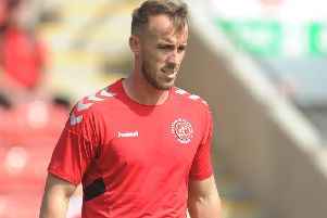 Fleetwood Town keeper Alex Cairns kept a clean sheet on Saturday