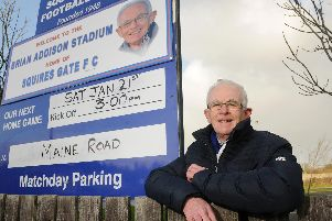 Squires Gate's Brian Addison Stadium plays host to today's reserve clash