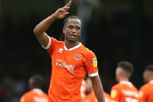 Nathan Delfouneso is one Blackpool player to have been missing in recent weeks