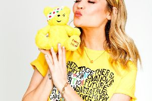 Laura Whitmore launches BBC Children in Need's 2019 campaign
