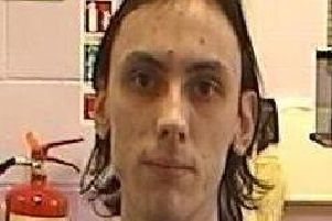 Christopher Kerrigan, 22, is wanted by police after escaping from prison on Saturday (October 5)