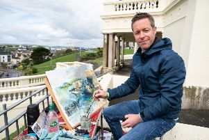 Rob Wilson from Whaley Bridge is competing to be named Landscape Artist of the Year on Sky Arts
