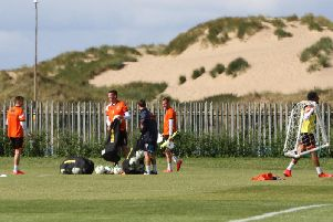 The Blackpool FC players will be getting Portakabin changing rooms at their training ground