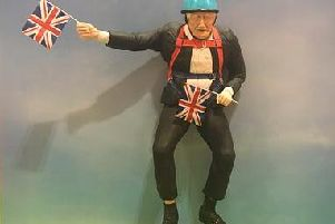 Boris Johnson cake unveiled