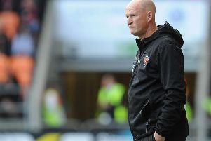 Grayson was left frustrated after his side's 2-1 defeat