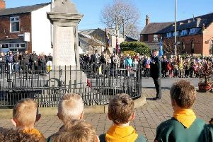 This is the first year police will not facilitate road closures at Wesham Remembrance Sunday parade.