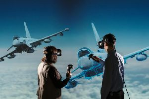 Virtual Reality is being used today at BAE Systems