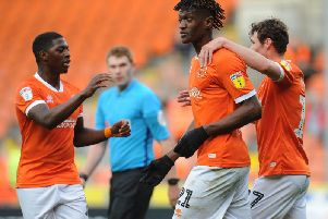 Armand Gnanduillet marked his recall with two goals against Peterborough