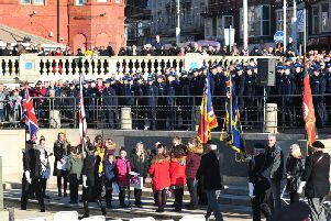 Blackpool's Remembrance Service and Parade