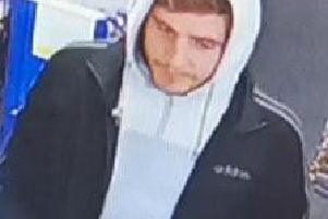 This man is wanted by police following the theft of a Royal British Legion Poppy Appeal collection tin containing several hundred pounds from Tesco Express in Bispham Village on Remembrance Sunday. Pic: Lancashire Police