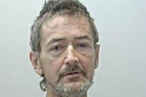 Jason Goldrick, 50, was last seen leaving Blackpool Victoria Hospital on Friday, November 1 at around 10pm. Pic. Lancashire Police