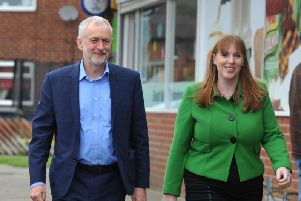 Jeremy Corbyn and Angela Rayner will be in Blackpool today