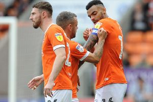 Jay Spearing and Curtis Tilt are two Blackpool players out of contract in the summer