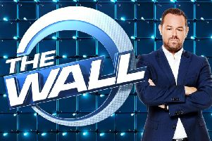 "Undated BBC handout file photo of Danny Dyer, who has said he cannot wait to get ""stuck in"" after his Saturday night game show The Wall was renewed for a second series (Picture: Simon Turtle/BBC/PA Wire)"