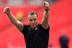 Micky Mellon has led Tranmere Rovers to back-to-back promotions