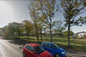 A joint police and fire investigation has been launched after a car fire at 11.30pm on Crossland Road Park, Blackpool. Credit: Google