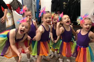 Some of the dancers at the Windmill School of Dance